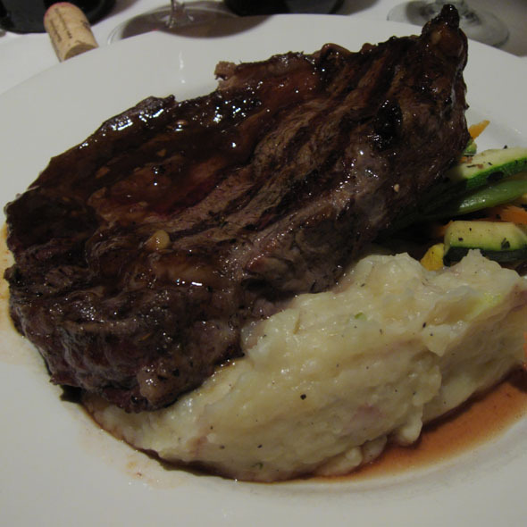 Ribeye Steak - Matt's Red Rooster Grill, Flemington, NJ