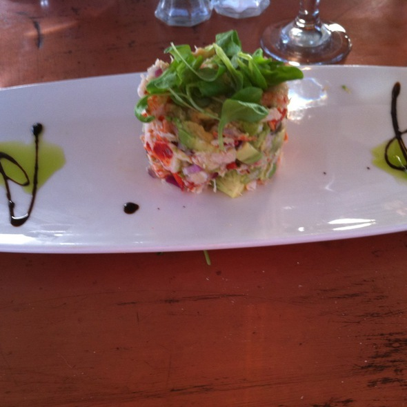 Lobster Avocado Salad - Latitude 41, Mystic, CT