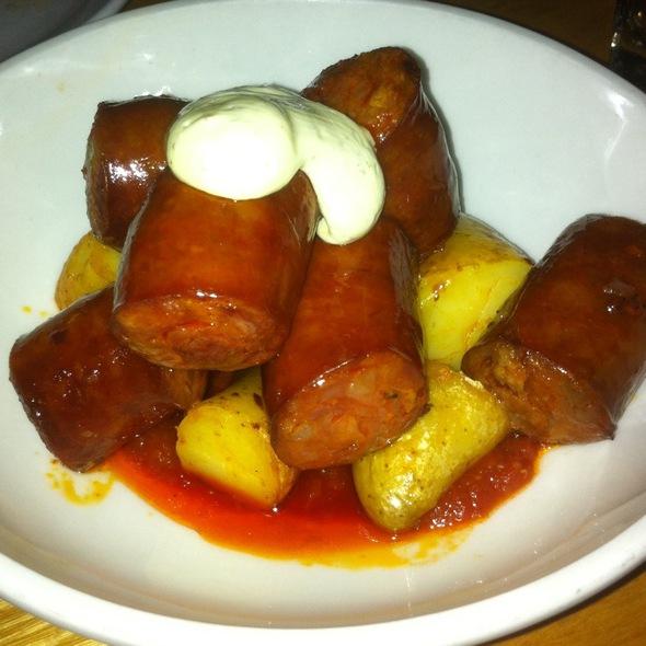 Patatas Bravas & Chorizo - Torito Tapas, Toronto, ON