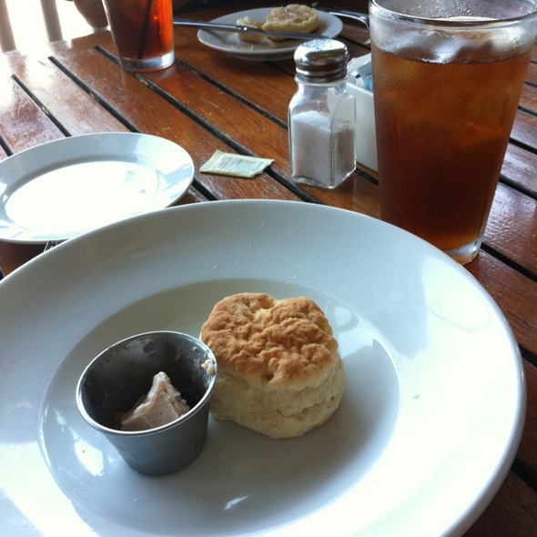 Bisquits W Cinnamon Butter - Boathouse at Breach Inlet, Isle Of Palms, SC