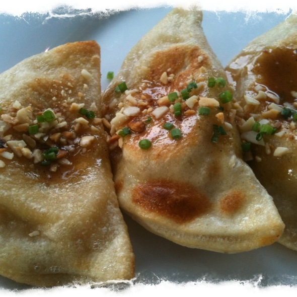 Pierogis - Beer Braised Chicken, Butternut Squash And Brown Butter - buku: Global Street Food, Raleigh, NC