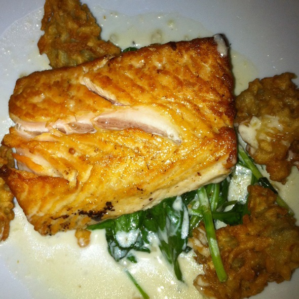 Salmon Entree - The Tap House, Tuckahoe, NY