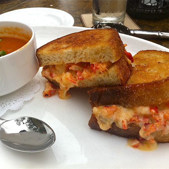 Lobster Grilled Cheese Sandwich - Tommy Bahama Island Grille - Newport Beach, Newport Beach, CA