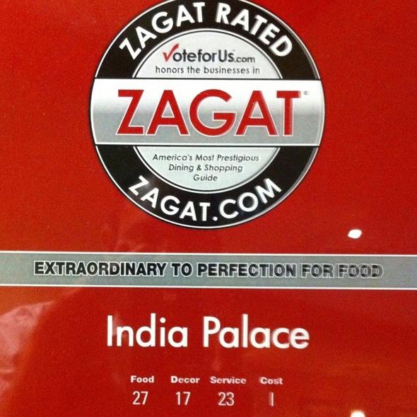 Zagat 2011 - India Palace - Las Vegas, Las Vegas, NV