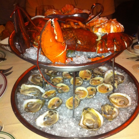 Seafood Tower - Uncle Jack's Steakhouse - Westside 9th Avenue, New York, NY