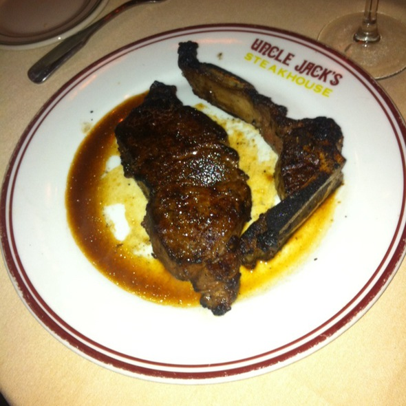 NY Strip Steak - Uncle Jack's Steakhouse - Westside 9th Avenue, New York, NY