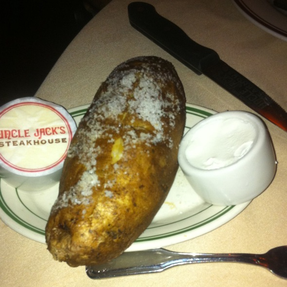 Baked Potato - Uncle Jack's Steakhouse - Westside 9th Avenue, New York, NY