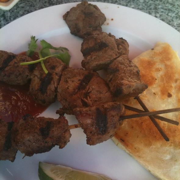 Cuban Steak Skewers - Cafe Tu Tu Tango - Orange, Orange, CA