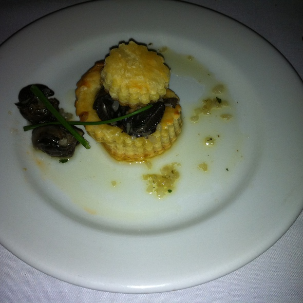 Escargot Puffs - JNA Institute of Culinary Arts, Philadelphia, PA