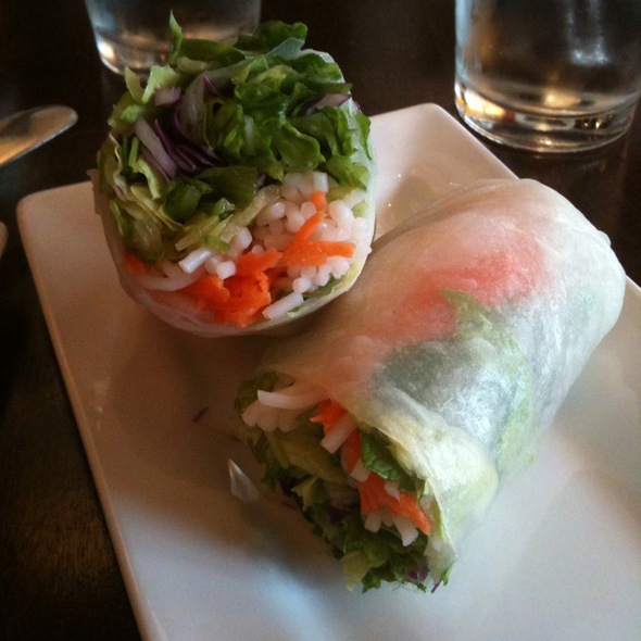 Fresh Spring Roll - Kindee Thai Restaurant, Minneapolis, MN
