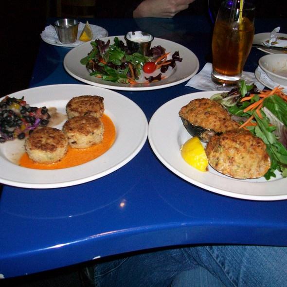 Stuffed Quahogs - Go Fish Restaurant, Mystic, CT
