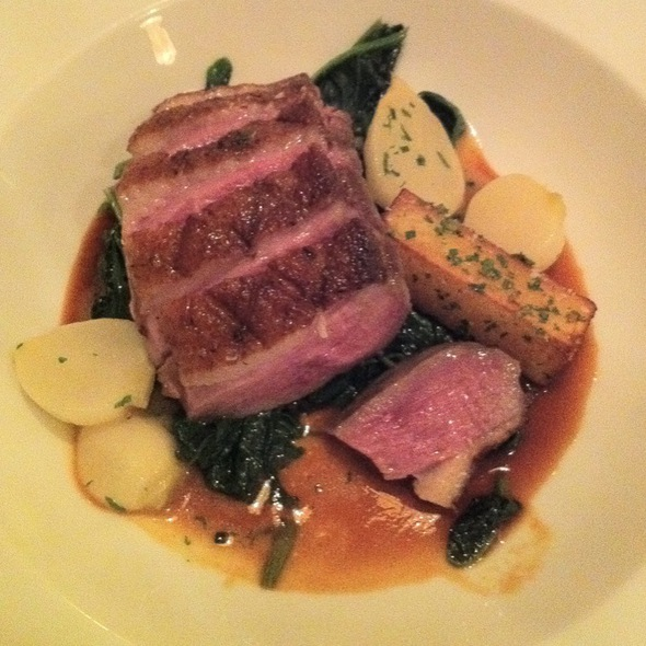 Long Island Duck Breast - Grant's Restaurant and Bar, West Hartford, CT