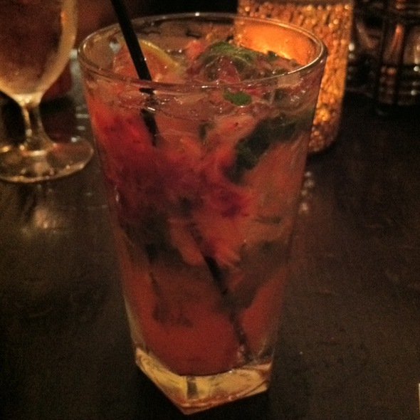 Strawberry Mojito - Grant's Restaurant and Bar, West Hartford, CT