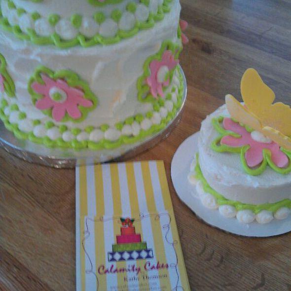 Calamity Cakes Menu