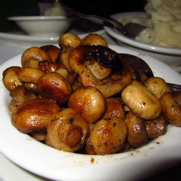 Sauteed Mushrooms - Gibsons Bar & Steakhouse - Chicago, Chicago, IL