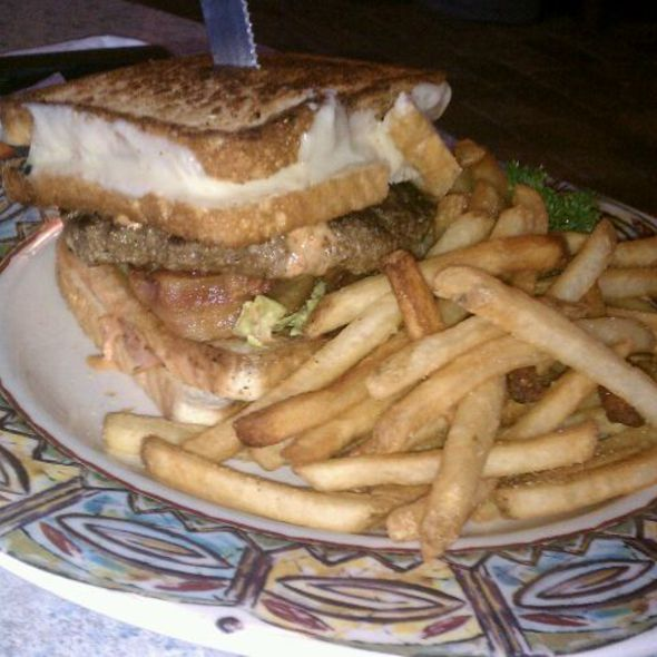 Ultimate grilled Cheese Burger - Village Tavern, North Wales, PA