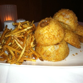 French Fries And Onion Rings - Fleming's Steakhouse - Des Moines, Des Moines, IA