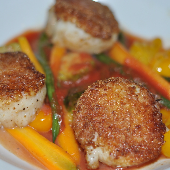Scallops - Paradou, New York, NY