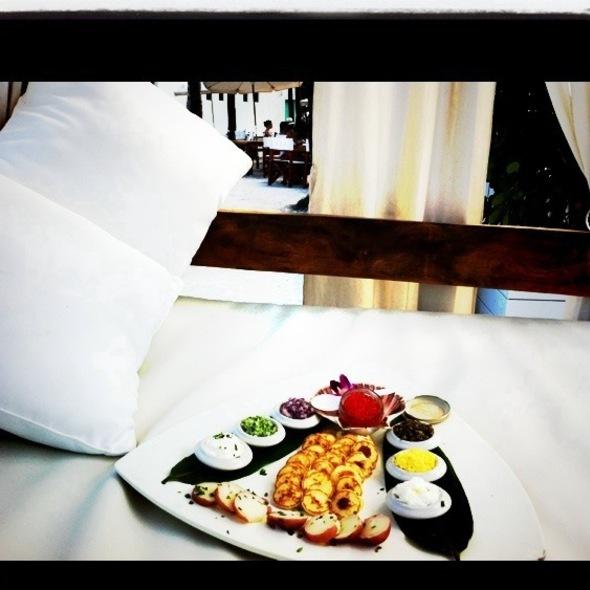 Caviar Platter - Nikki Beach, Miami Beach, FL