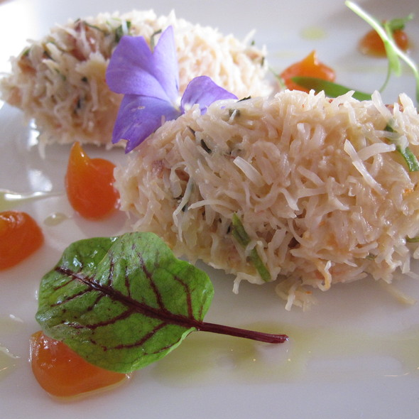 jonah crab salad - Scampo at The Liberty Hotel, Boston, MA