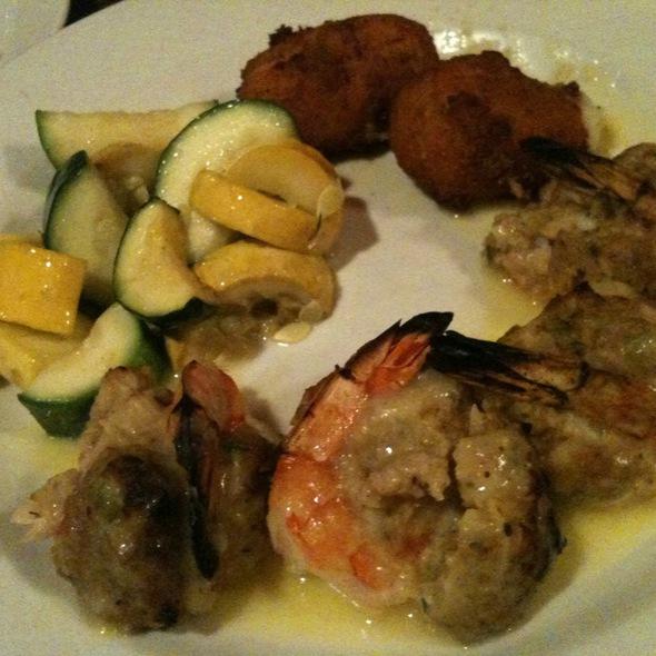 Stuffed Shrimp With Potato Croquette - Molly Maguire's Irish Pub and Restaurant, Clark, NJ