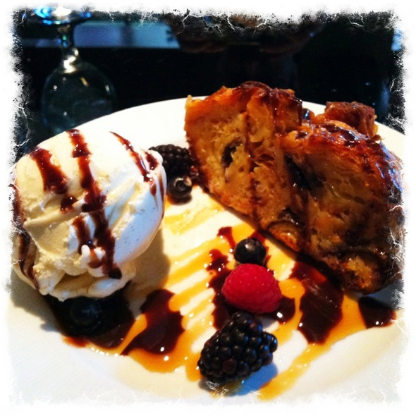 Bread Pudding - Randolph's at Warwick Denver Hotel, Denver, CO