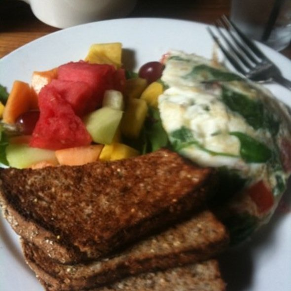 Tomato, Basil & Goat Cheese Omelette - Marathon - 16th & Sansom, Philadelphia, PA
