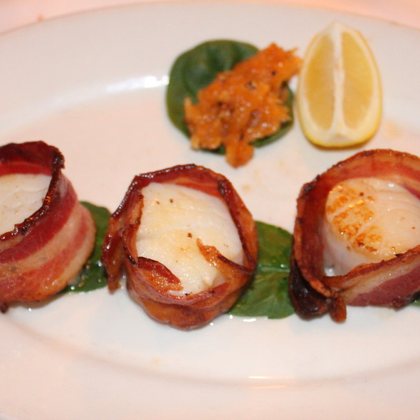 Broiled Sea Scallops Wrapped in Bacon - Morton's The Steakhouse - Honolulu, Honolulu, HI