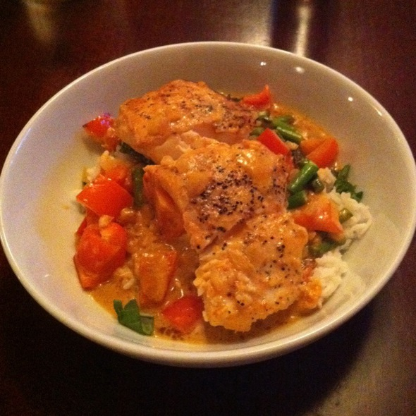 Wild Alaskan Halibut In Red Curry - The Stone House, Redmond, WA
