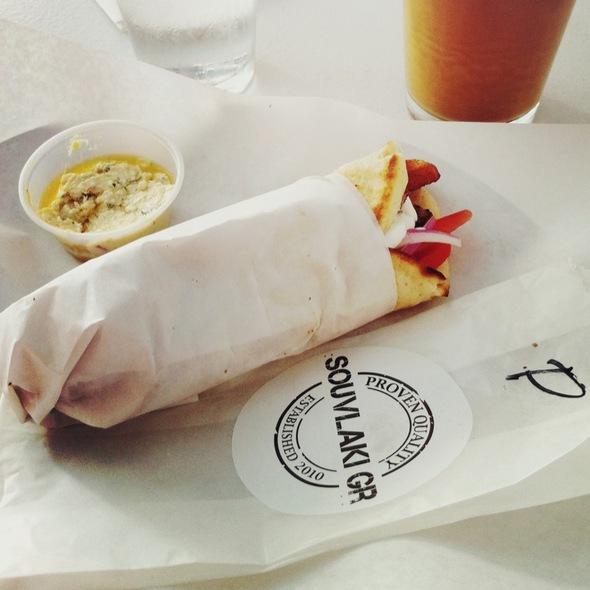 Pork Pita - Souvlaki GR - LES, New York, NY