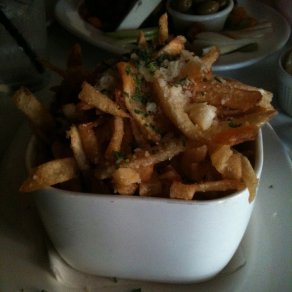 White Truffle Parmesan Pommes Frites - Mercy Wine Bar, Dallas, TX