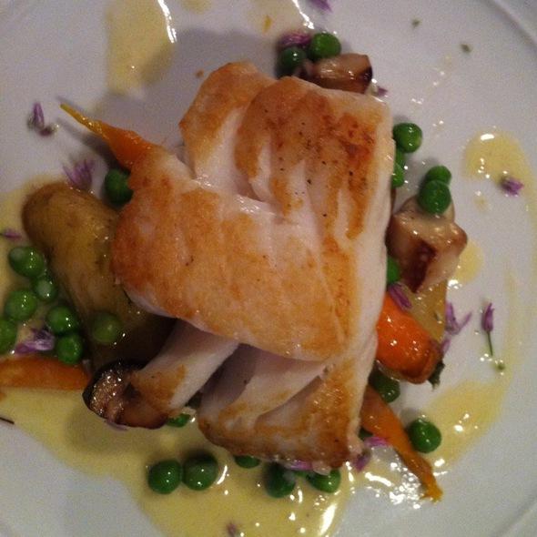Pan Roasted Cod - Bergamot, Somerville
