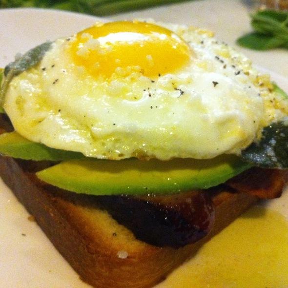 Avocado Toast - The Lexington Social, New York, NY