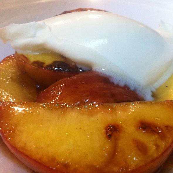 Roasted Peaches - The Lexington Social, New York, NY