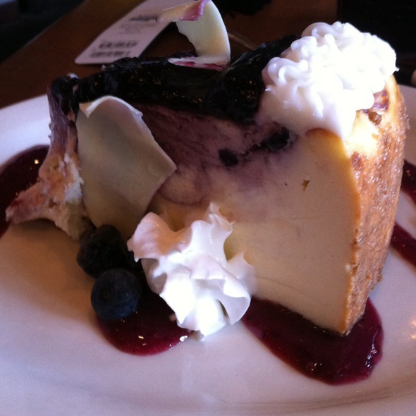 Blueberry And White Chocolate Cheesecake - Dilly Bistro, Bar & Bottle Shop, Cincinnati, OH