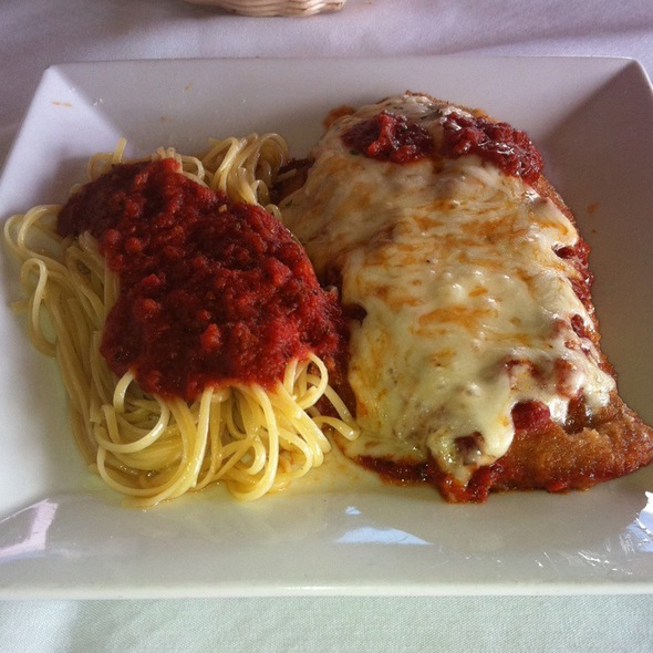 Veal Parmagiana - Alberto's Ristorante, Hyannis, MA