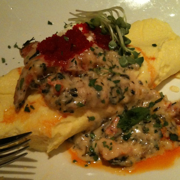 Lobster Omelette - Ostra at Mokara Hotel & Spa, San Antonio, TX