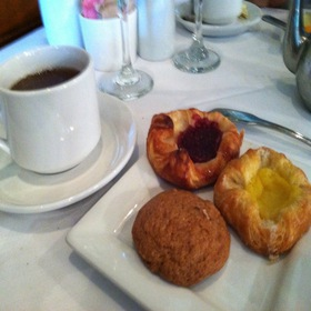 Tea & Assorted Pastries - The Whitney, Detroit, MI