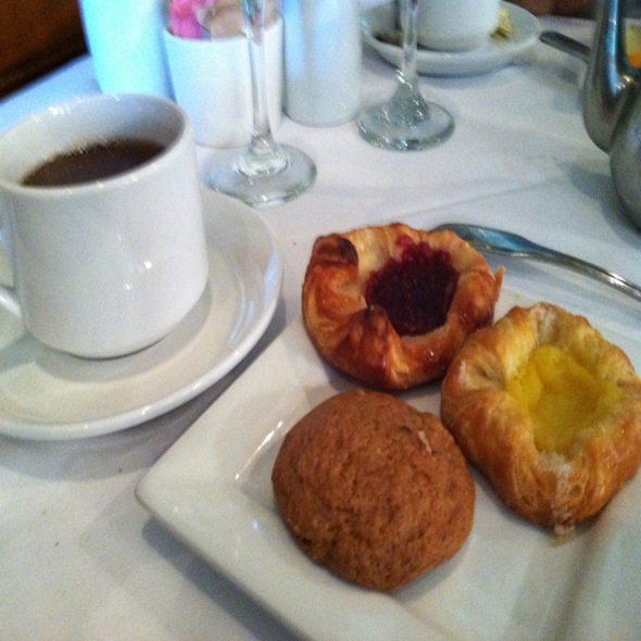 Tea & Assorted Pastries - The Whitney, Detroit, MI