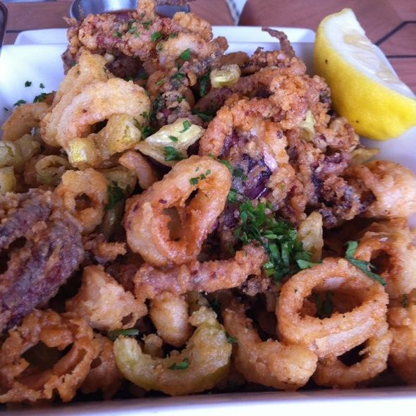 Fried Calamari - The Mooring Restaurant, Newport, RI