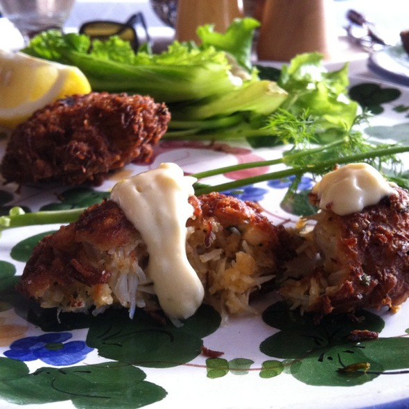 Crab Cakes - The Ivy, West Hollywood, CA
