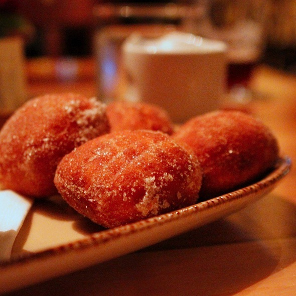 Cornmeal Bomboloni - Nostrano, Madison, WI