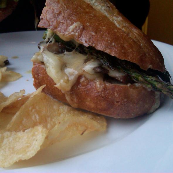 Asparagus baguette - Logan - An American Restaurant, Ann Arbor, MI