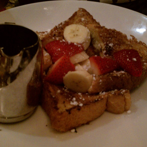 Vanilla Bean French Toast - The Round Table at the Algonquin Hotel, New York, NY