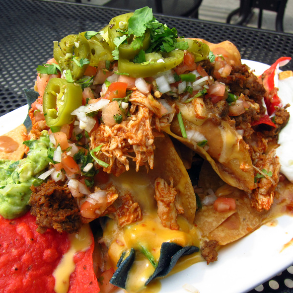 Southwestern Nachos - The Boundary Tavern & Grille, Chicago, IL