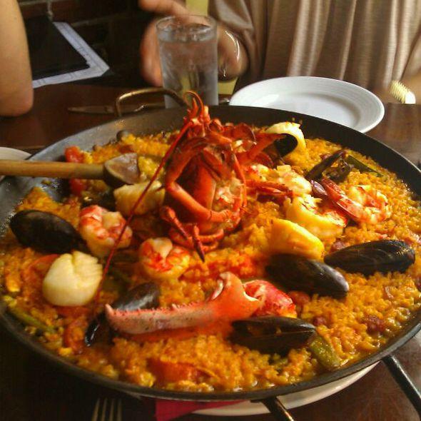 Seafood Paella - Verdad Restaurant and Tequila Bar, Bryn Mawr, PA