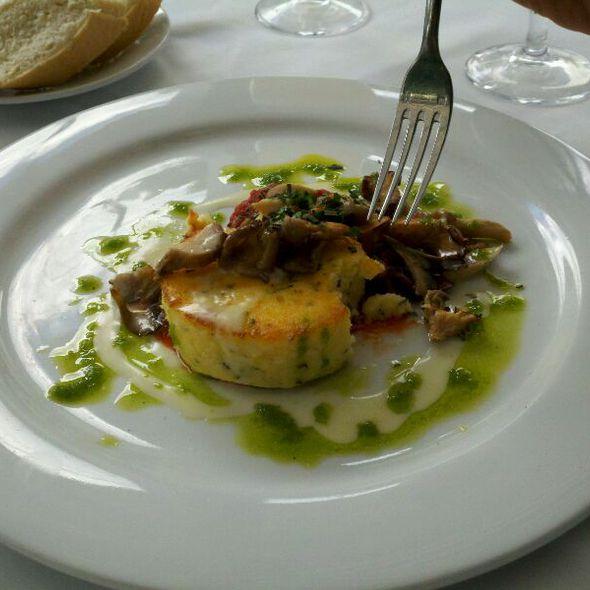 Polenta With Wild Mushrooms - Fresco Italian Cafe, Salt Lake City, UT