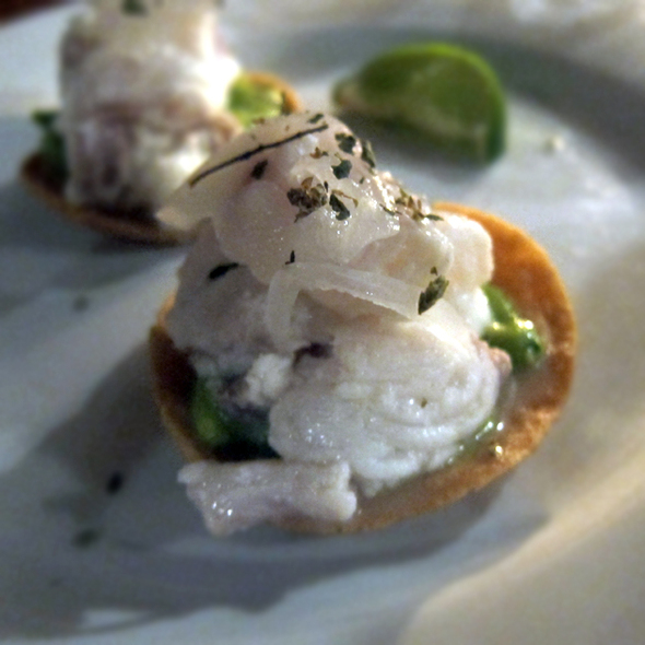 Tostadas de Ceviche - Hecho en Dumbo Chef's Table Menu Prix Fixe, New York, NY