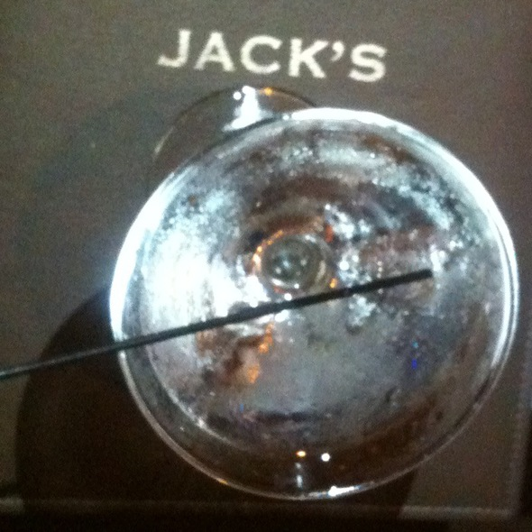 Hendricks Martini - Jack's Restaurant & Bar - NYC, New York, NY