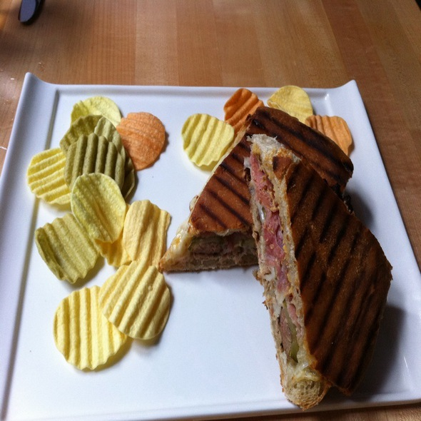 Cuban Sandwich - The Market Place Restaurant, Asheville, NC
